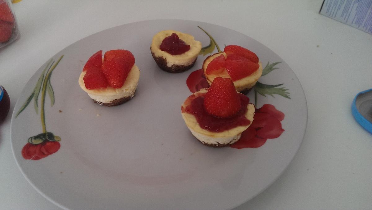 Cheesecakes Fraises