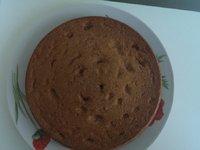 Gâteau chocolat blanc spéculoos