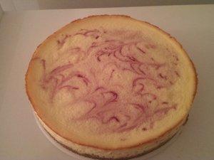 Cheesecake chocolat framboise façon Starbucks