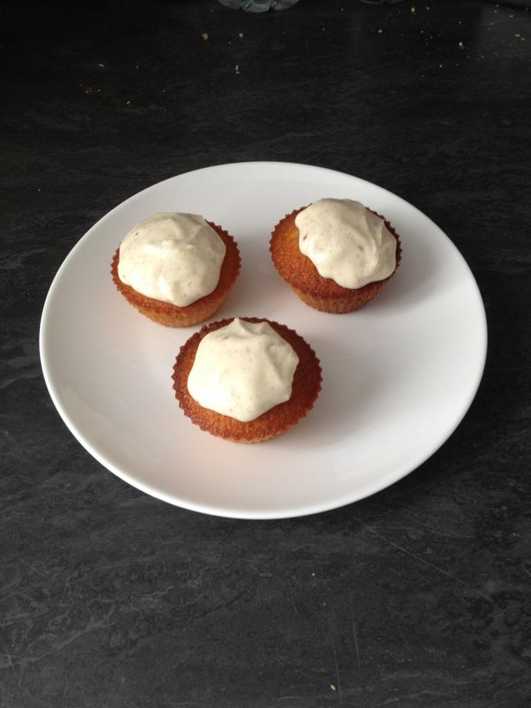 cupcakes vanille façon michalak