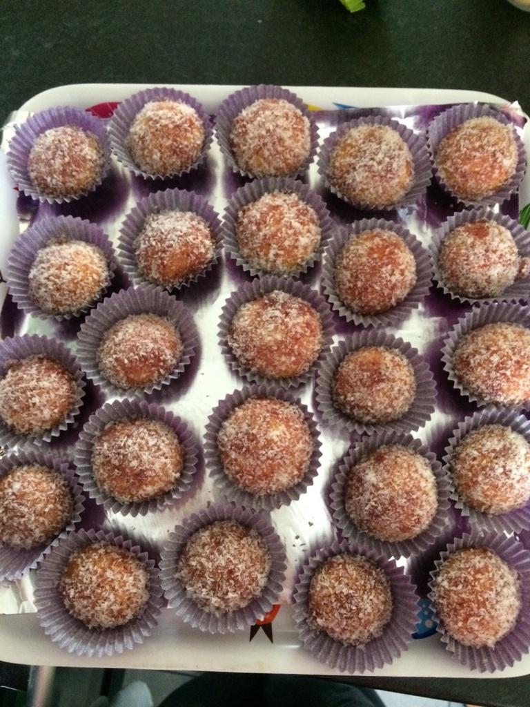 Boule de noix de coco