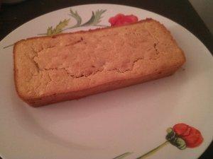 Cake à la farine de sarrasin et aux pommes