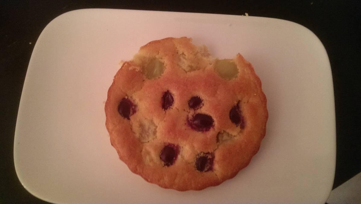 Gâteau aux 2 raisins et amandes