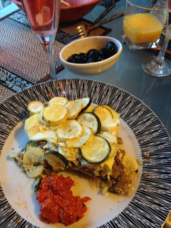 Moussaka de courgettes
