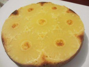 gâteau ananas chocolat blanc