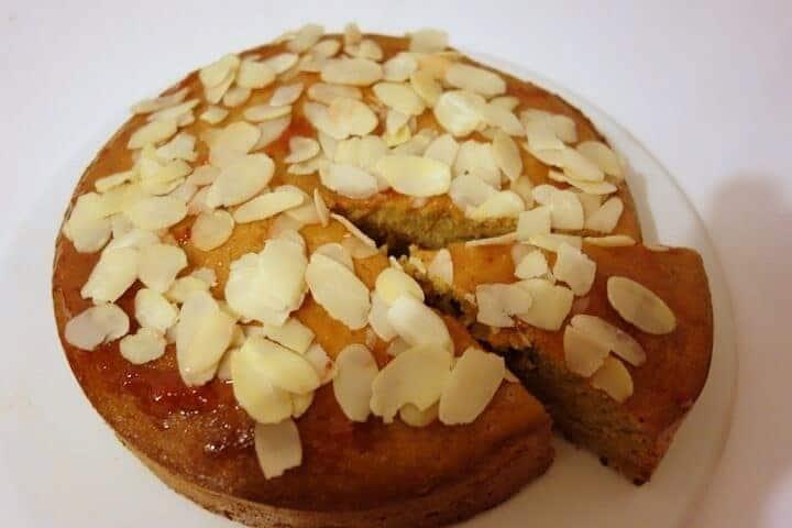 Gâteau aux amandes sans beurre sans gluten
