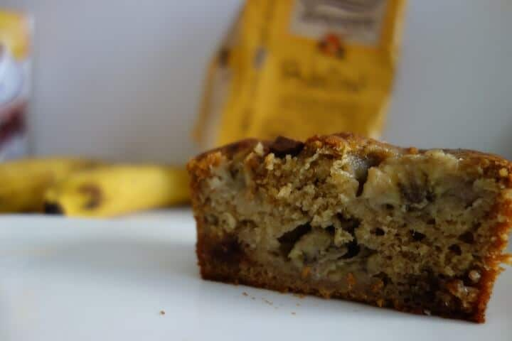 moelleux bananes chocolat praliné