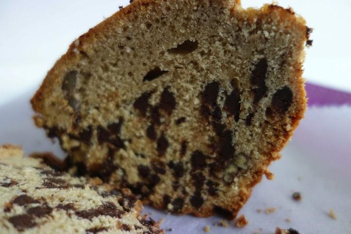 Gâteau crème de marrons, chocolat, noix de pécan et coco
