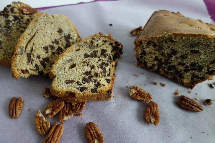 Gâteau creme de marrons chocolat noix de pécan coco