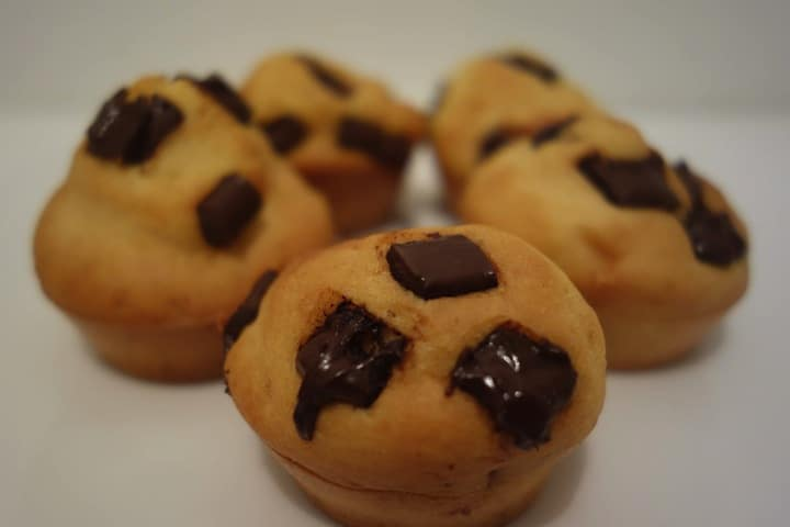 muffins ananas pépites de chocolat