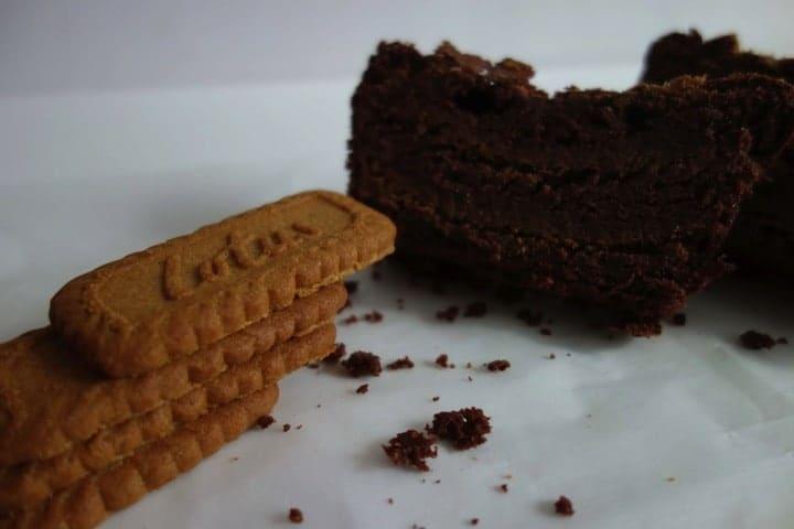 cake chocolat spéculos