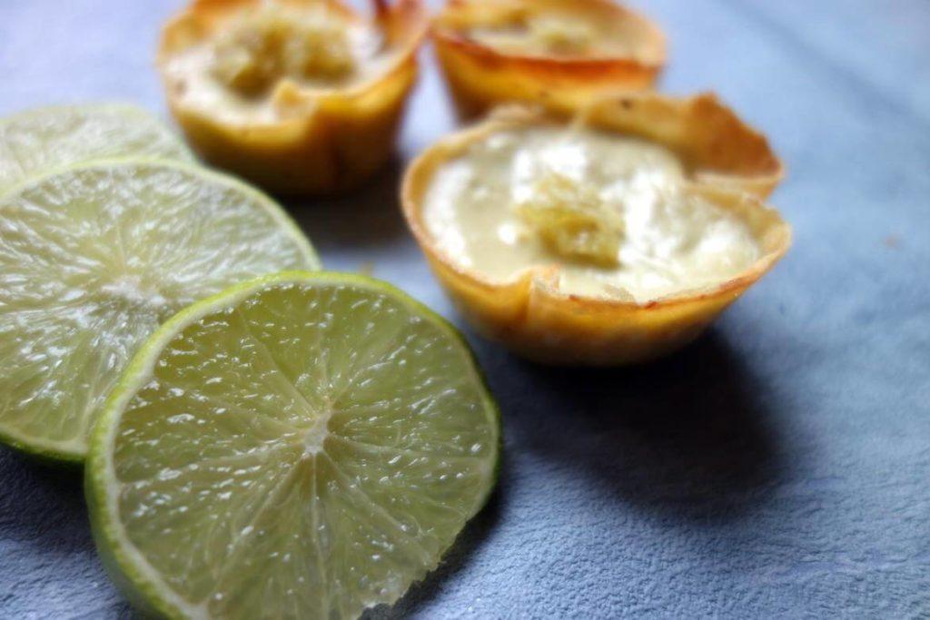 Mini cheesecake tortillas avocat citron vert