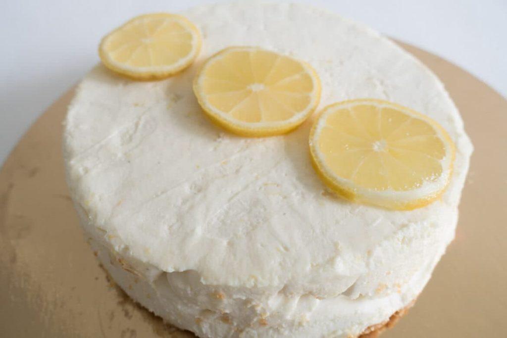 Recette Cheesecake citron sans cuisson facile