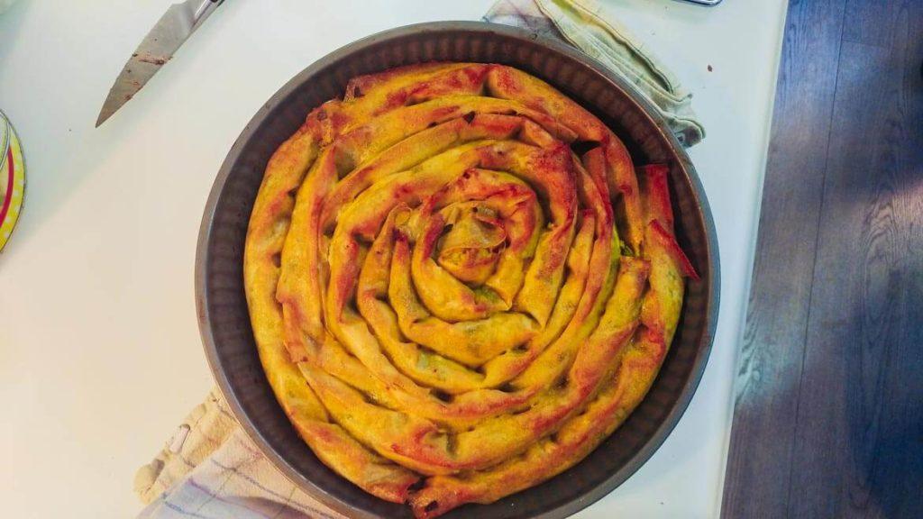 cuisiniers et blogueurs pour Sesaam: banitsa