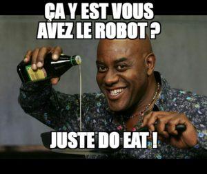 robot patissier
