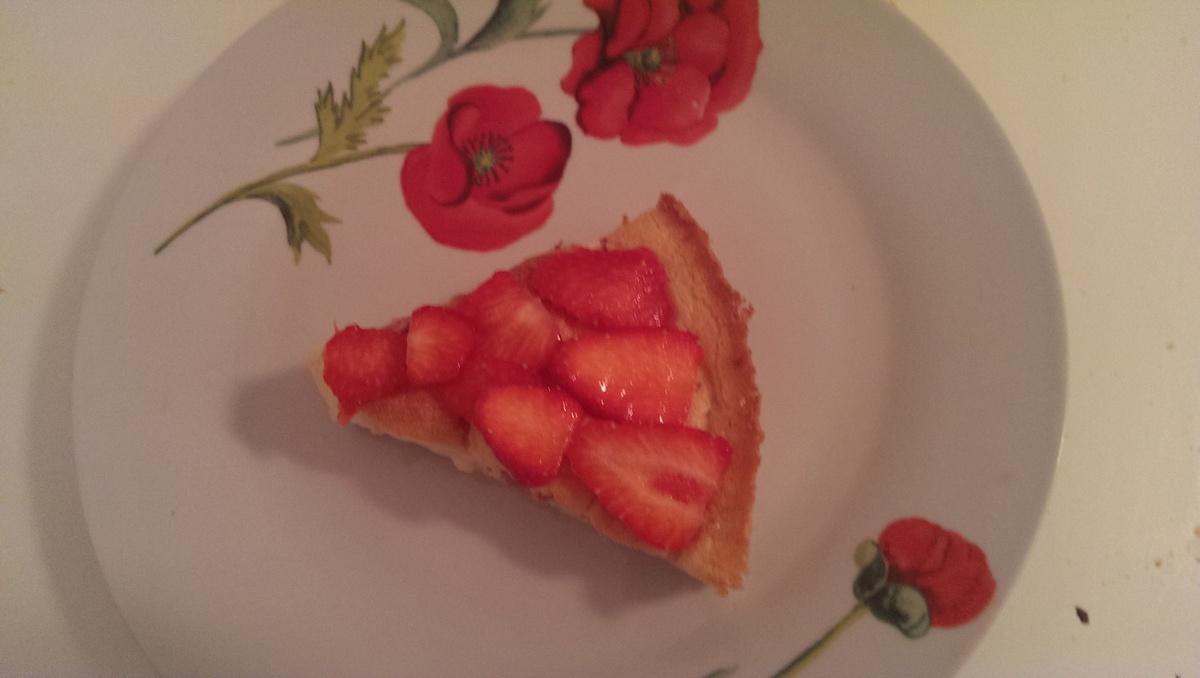 Gâteau magique vanille-fraise