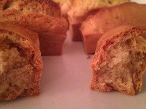 Mini gâteaux au yaourt de soja