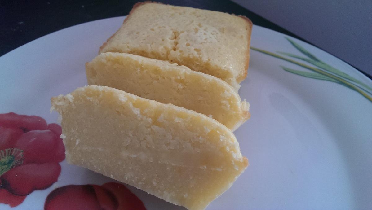 Cake au citron façon michalak