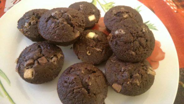 Muffins chocolat façon Michalak