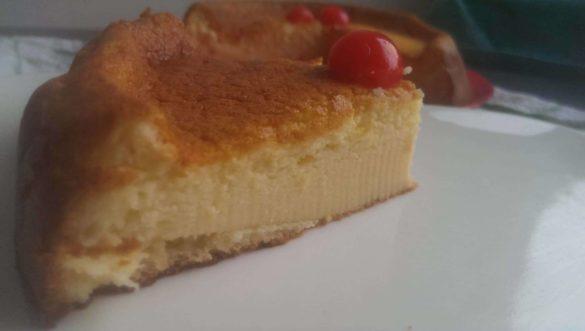 Cheesecake japonais