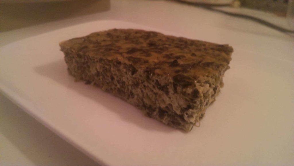 Gateau épinards au tofu soyeux