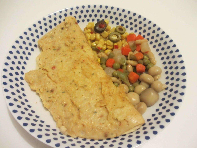 omelette sans oeufs