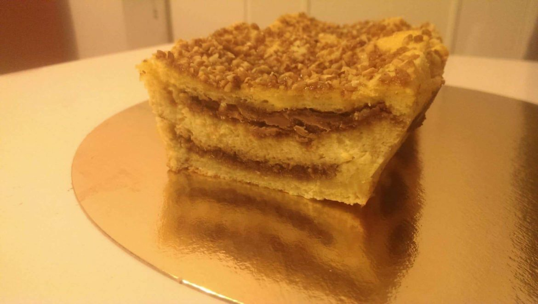 croque cake chocolat praliné