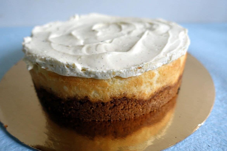 cheesecake double vanille