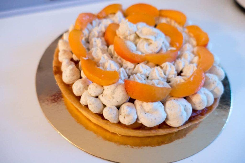 Recette de tarte abricot pêche vanille