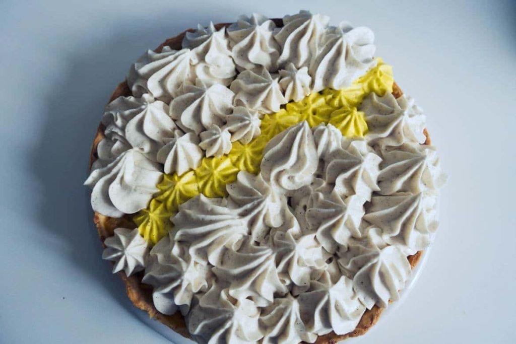 tarte mangue chantilly vanille