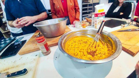 cuisiniers et blogueurs pour Sesaam: cookies potimarron et chocolat
