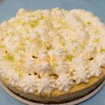 Cheesecake coco citron vert
