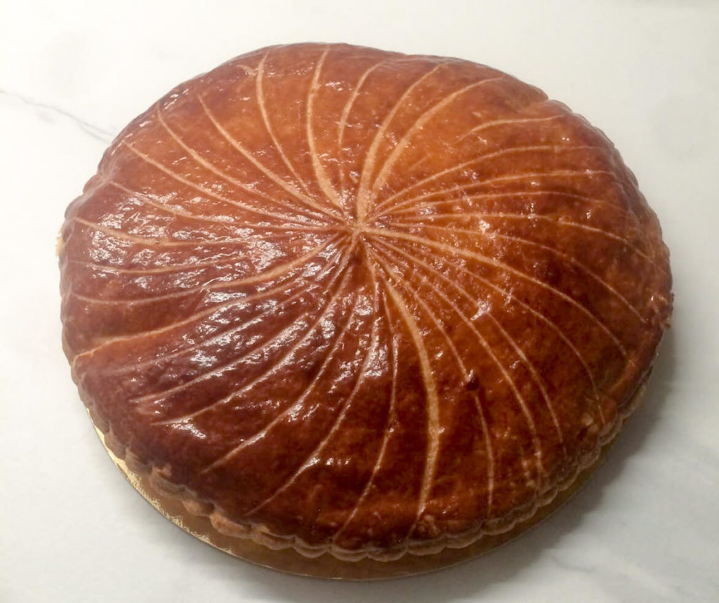 galette des rois crème de marrons