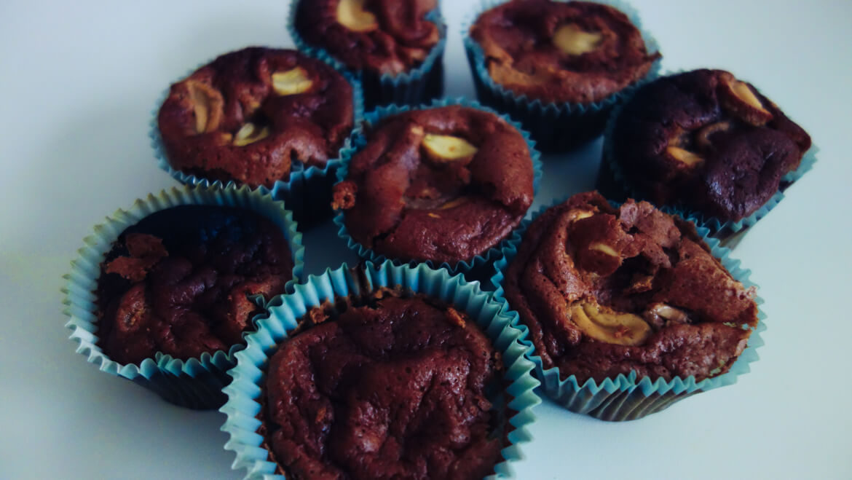 muffins pralinés cajou sans gluten