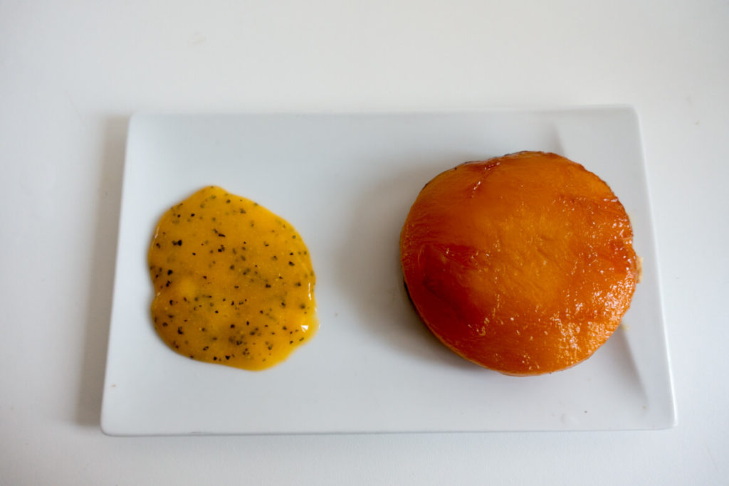 tarte tatin mangue citron vert