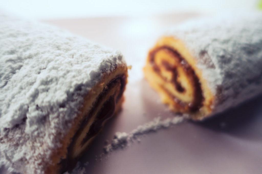 Biscuit roulé japonais