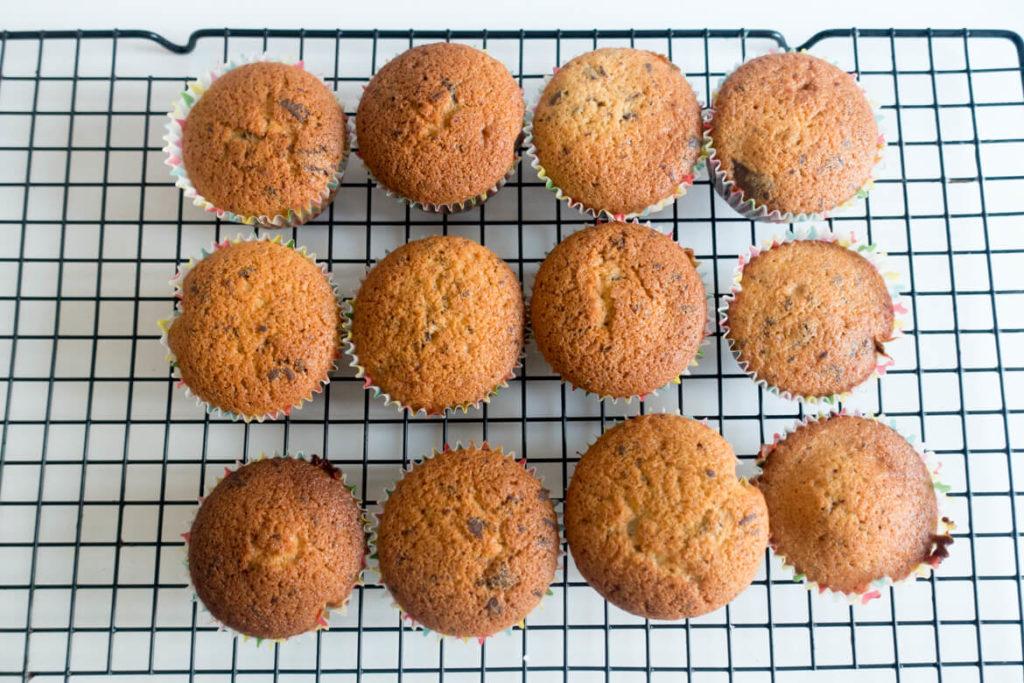 muffins pépites chocolat facile