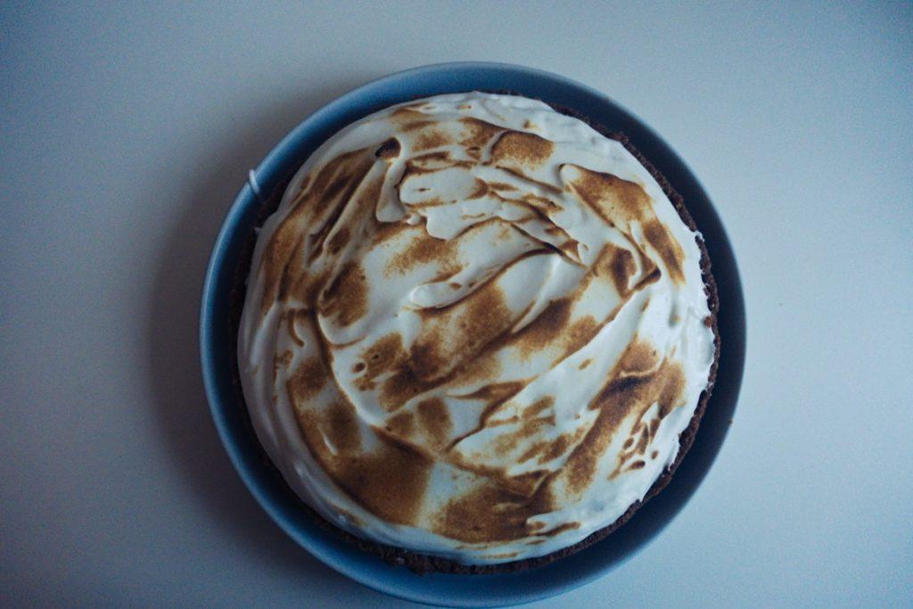 tarte meringuée chocolat