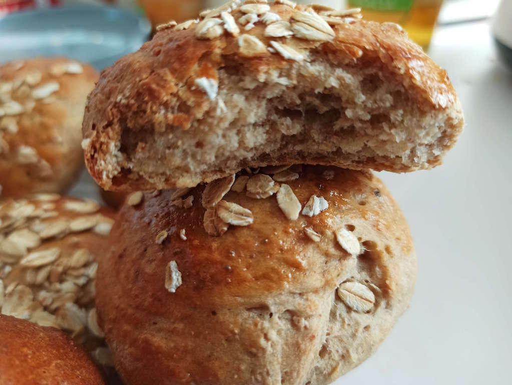 pain complet avoine miel
