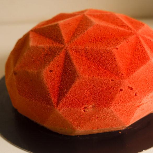 Entremets fruits rouges gemma