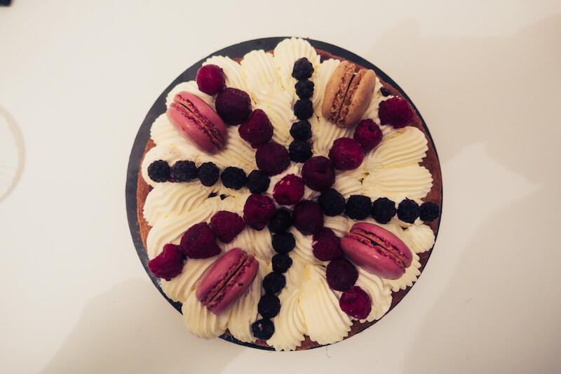 tarte chantilly mascarpone fruits rougess