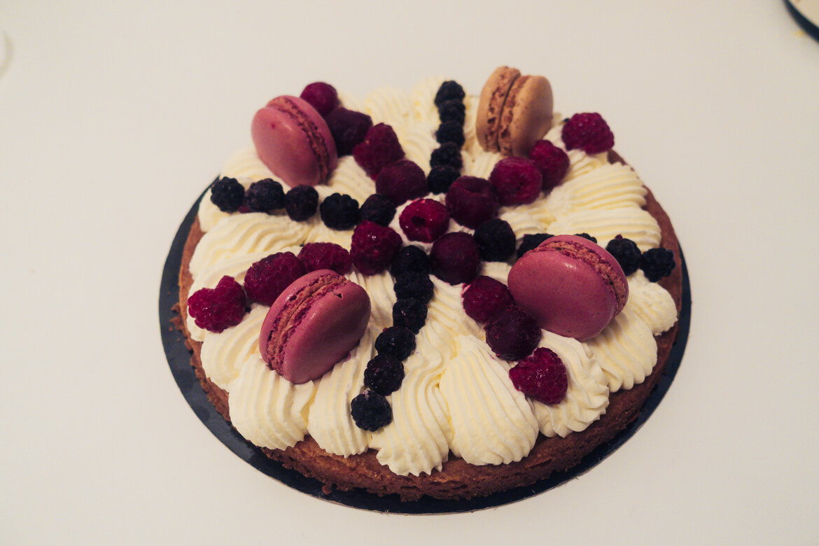 tarte chantilly mascarpone fruits rouges