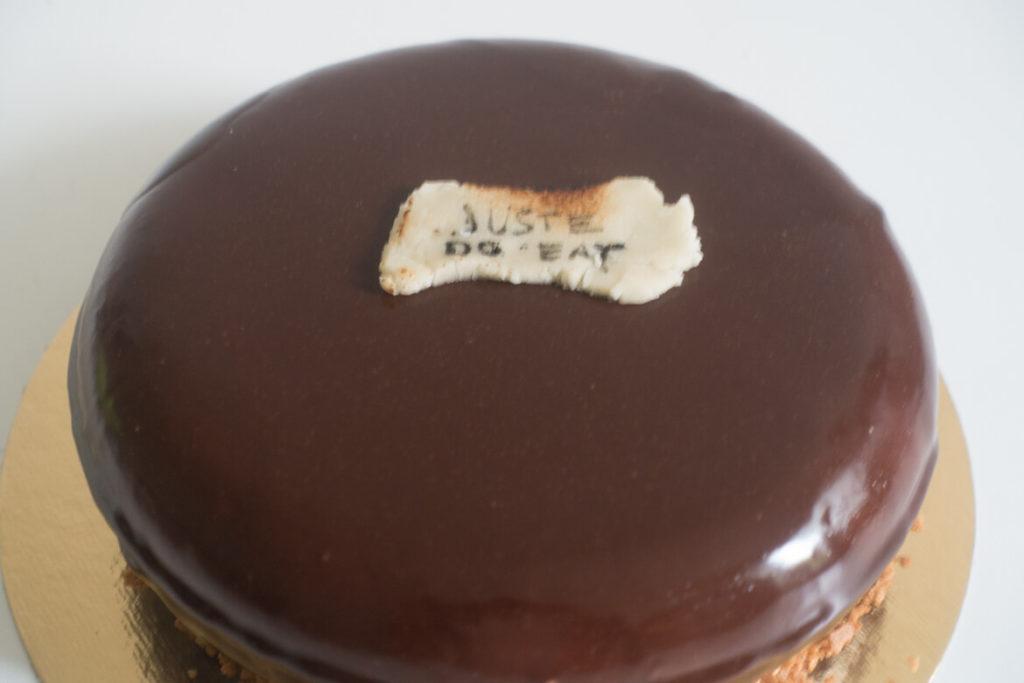 Entremets mascarpone croquant chocolat