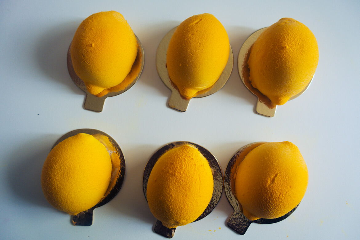 mini entremets citron