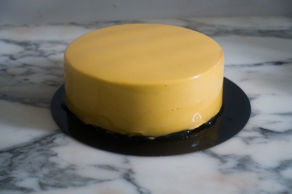 entremets mangue insert coco
